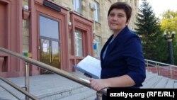 Журналистка Ирина Московка из Караганды. Фото из личного архива.