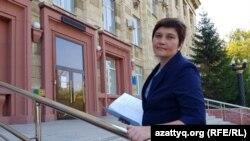 Журналистка Ирина Московка. Фото из личного архива Ирины Московки.