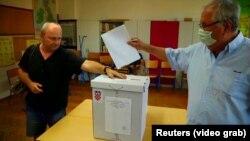 Glasanje u Hrvatskoj uz stroge epidemiološke mjere