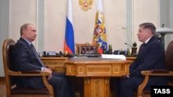 Зустріч президента Росії Володимира Путіна з головою Верховного суду РФ В'ячеславом Лебедєвим, 13 березня 2015 року