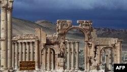 Пальмира в марте 2014 года