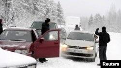 Azilkërkues në kufirin Finlandë-Rusi
