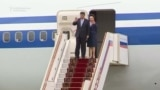 Xi Lands In Moscow For Putin Talks