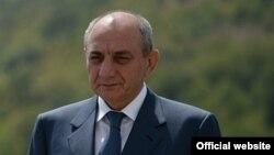 Президент Нагорного Карабаха Бако Саакян (архив)
