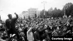 Душанбе, моҳи феврали 1990