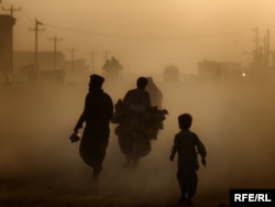 Air pollution in many Afghan cities is a serious health problem.