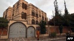 Йемен астанасы Сана қаласындағы Иран елшілігі. (Көрнекі сурет)