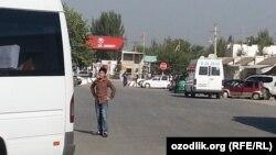 КПП «Достук» на кыргызско-узбекской границе. Архивное фото.