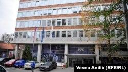 Зградата на РТС во Белград