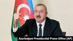 Азербайжандын президенти Ильхам Алиев, 25-ноябрь 2020-жыл.
