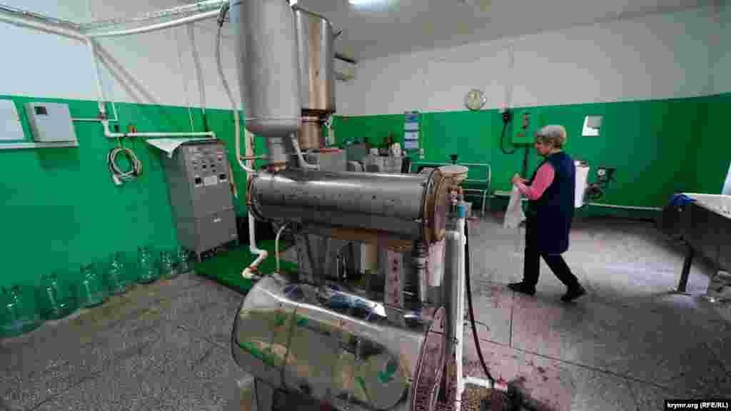 Установка по производству сиропа из стевии