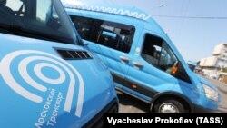 """Новое маршрутное такси """"Мосгортранса"""""""