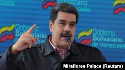Лидер Венесуэлы Николас Мадуро