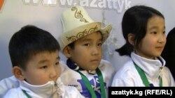 Кыргызстандык жаш шахматчылар