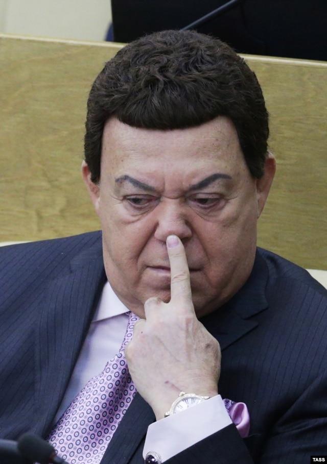 Йосип Кобзон під час засідання Держдуми