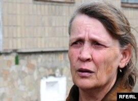 Наталья Рейх, жительница поселка Актау Карагандинской области. Июнь 2010 года.