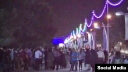 Protests in Shahin Shahr, Iran