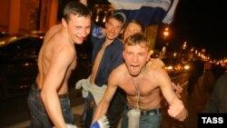 Российские футбольные фанаты