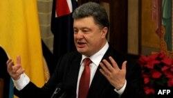Ukrainanyň prezidenti Petro Poroşenko. 11-nji dekabr, 2014 ý.