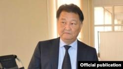 Министр здравоохранения Талантбек Батыралиев.