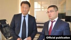 Талантбек Батыралиев и Уран Ахметов.