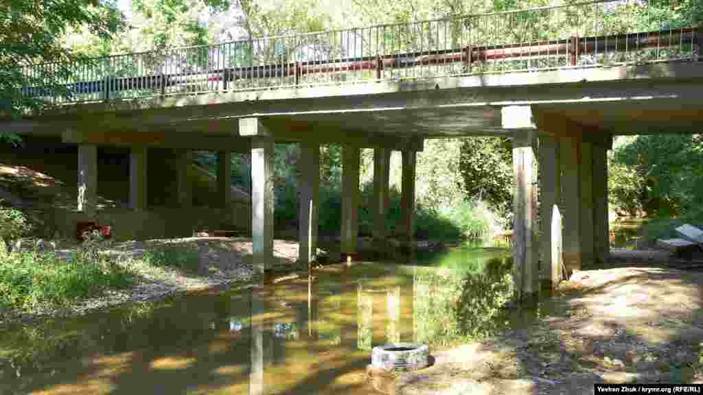 Міст через річку Бельбек