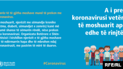 Këshillat e OBSH-së për koronavirusin