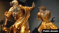 Скульптурна композиція «Жертвоприношення Авраама» Йогана Ґеорґа Пінзеля
