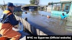 Наводнение в Кяхтинском районе Бурятии, сентябрь 2021 года