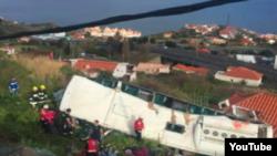 Авария туристического автобуса на Мадейре