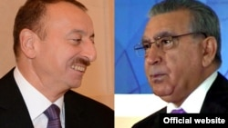 A series of videos purportedly exposing corruption among Azerbaijan's political elite has put pressure on Ramiz Mehdiyev (right), who is President Ilham Aliyev's chief of staff.
