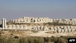 The Jewish settlement of Har Homa in Arab east Jerusalem