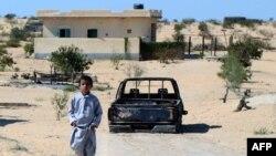بلدة شيخ زويد في شمال سيناء (الارشيف)
