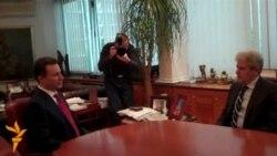 Средба Груевски-Ахмети во владата
