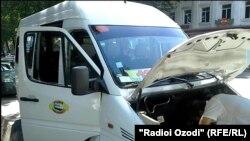 Шағын автобус (Көрнекі сурет).