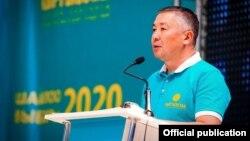 Лидер партии «Кыргызстан» Канатбек Исаев.