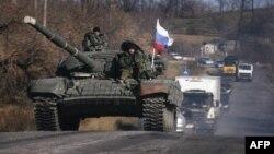 Бойовики угруповання «ЛНР» біля Красного Луча. Жовтень 2014 року