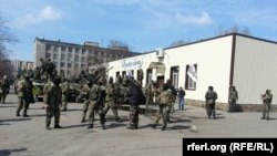 Славянск. 16 апреля 2014 года