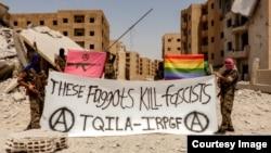 Защита сирийского ЛГБТ-сообщества, сексуальная революция - такие цели ставит перед собой батальон