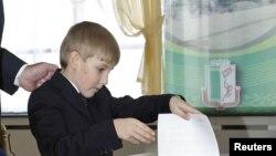 Так малодшы сын кіраўніка краіны выглядаў у 2010.
