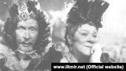 """""""Küllücə"""" nağılındakı qəddar ögey ana obrazı sovet filmində. 1947-ci il"""