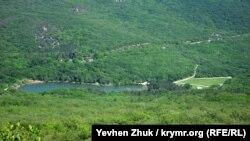 Вид на Торопово озеро