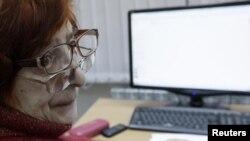 """Урок в клубе """"Красноярский электронный пенсионер"""""""