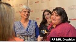 Журналистка Хадиджа Исмаил