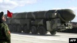 Межконтинентальная баллистическая ракета РС-12М ''Тополь'' на космодроме ''Плесецк'