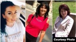 Larisa Fusaru, Mirela Oprișan și Alina Drăghici, trei dintre românii care suferă de parosmie după ce s-au vindecat de COVID-19.