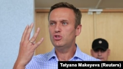 Russian opposition leader Alexei Navalny was given a 10-day jail sentence on July 1.