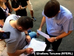Штаб Навального в Новосибирске блокировала полиция