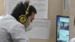 """Доктор на """"горячей линии"""": в Таджикистане проводят онлайн-консультации по COVID-19"""