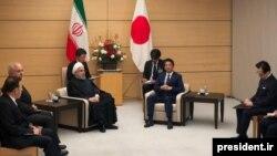 دیدار حسن روحانی، رئیسجمهوری ایران با شینزو آبه، نخستوزیر ژاپن در توکیو، ۲۹ آذر ۹۸